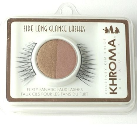 Khroma Kardashian Makeup Khroma Side Long Glance Lashes Poshmark